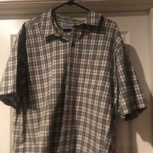 Mens 2xl Carhart short sleeve shirt
